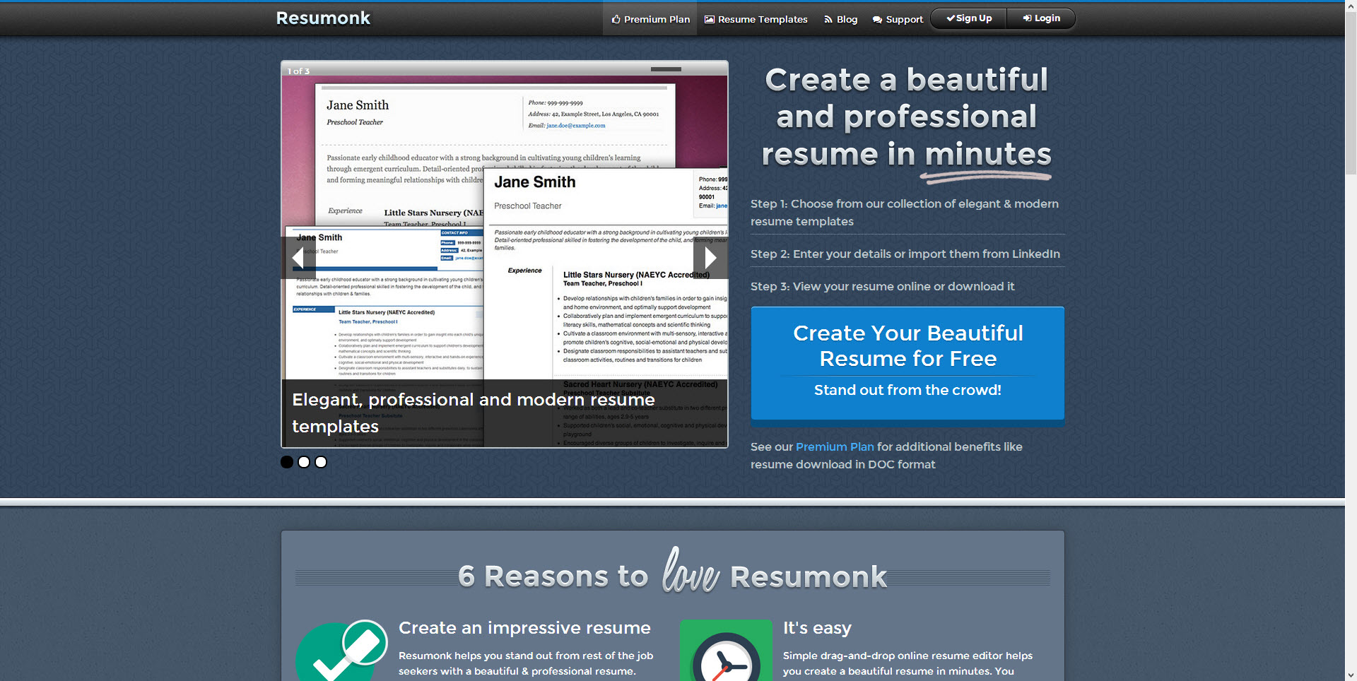 Resume Building Websites 1000 ideas about online resume builder on pinterest online resume template free resume samples and resume templates for students Resumonk