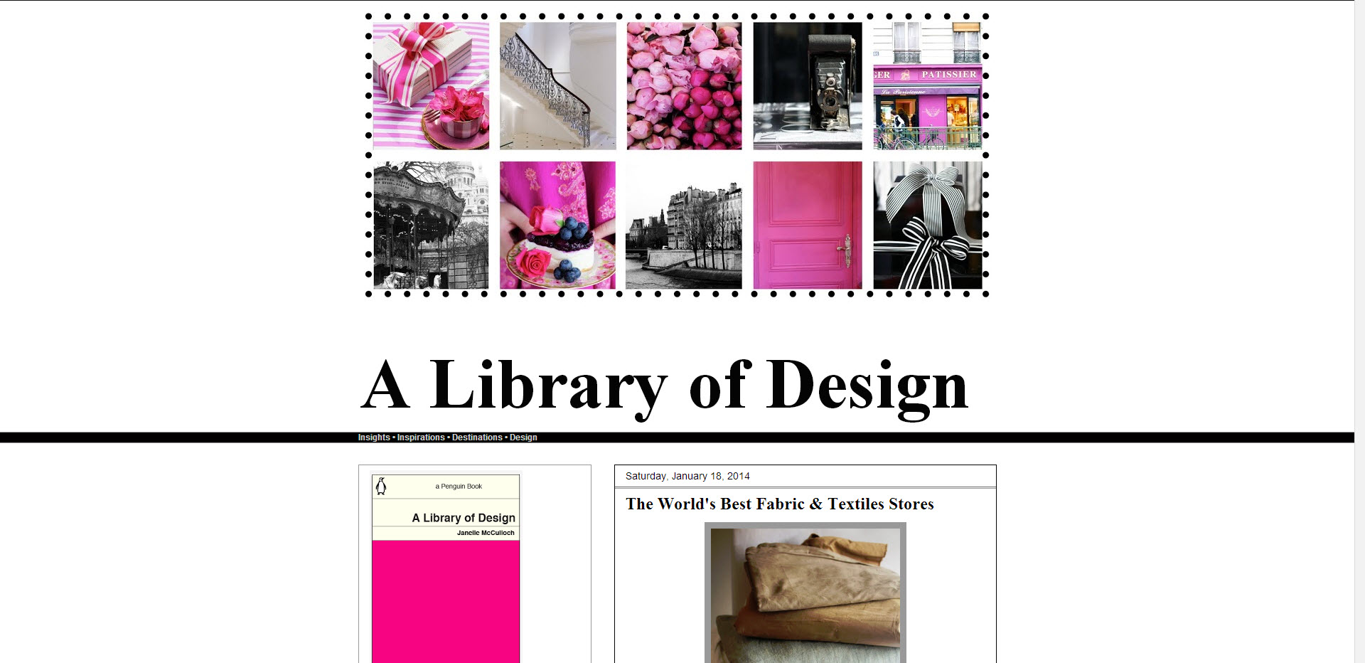 A Library of Design