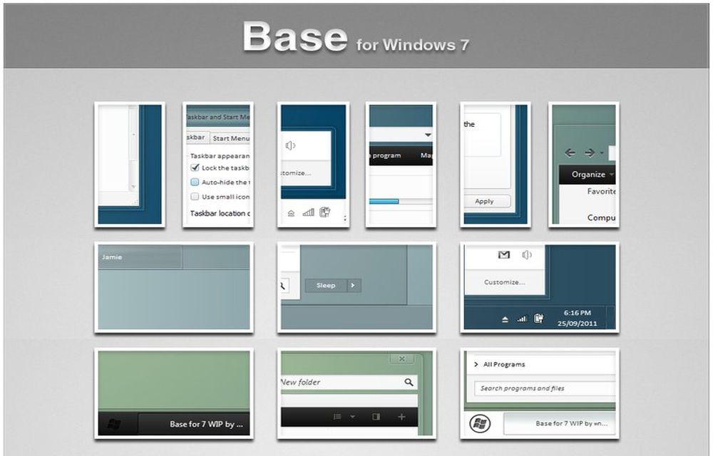 Base for Windows 7