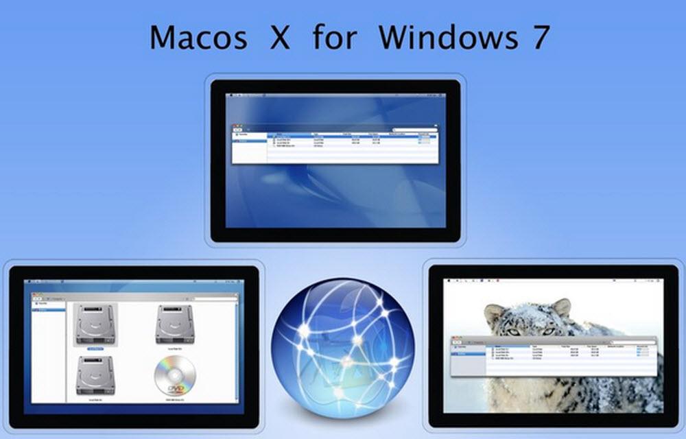 Mac OS X Theme For Windows 7