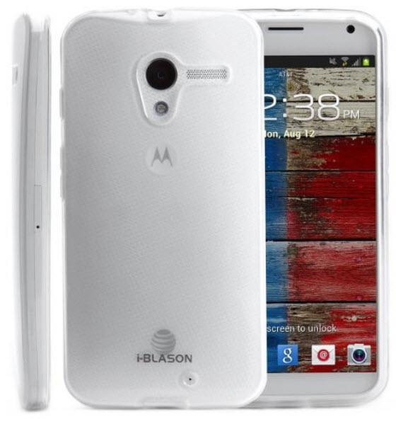 i-Blason SoftGel Flexible TPU Case for Motorola X Phone