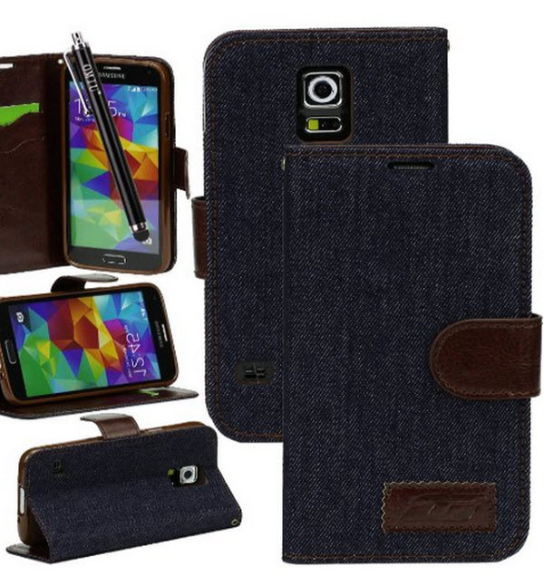 OMIU Samsung Galaxy S5 With Credit Cards Slots and Stylus