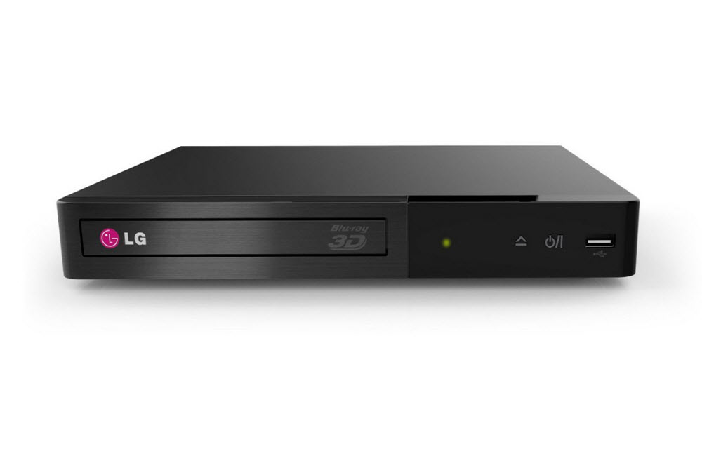LG BP340 Blu-Ray Disc Player with Apps and Built-In Wi-Fi