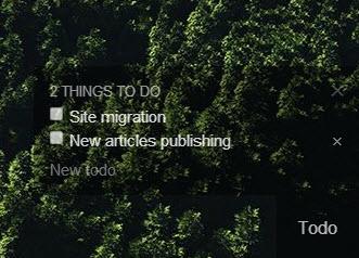Momentum ToDo