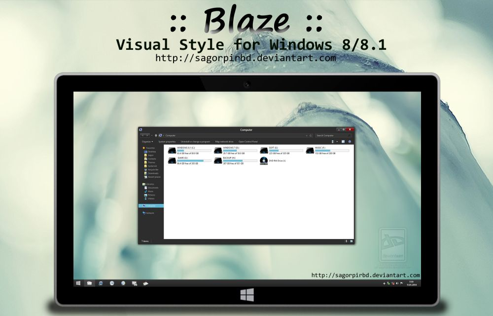 Blaze for Windows 8