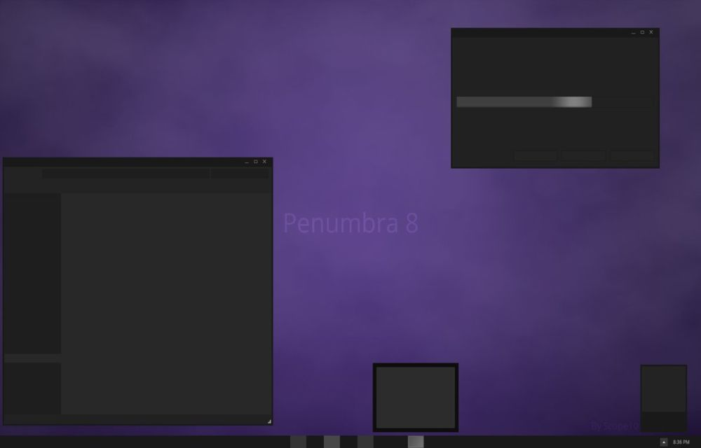 Penumbra 8 Theme for Windows 8.1