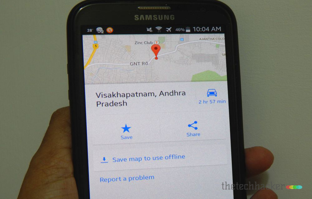 How To Use Google Maps Offline On Android Device