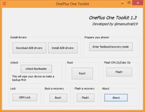 OnePlus One ToolKit