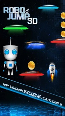 Robo Jump 3D Game Play