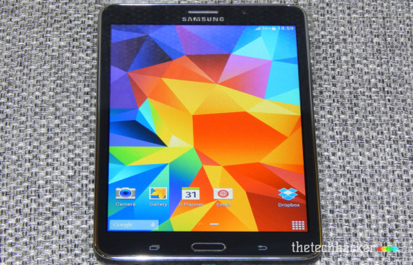 Samsung Galaxy Tab 4 Display Quality