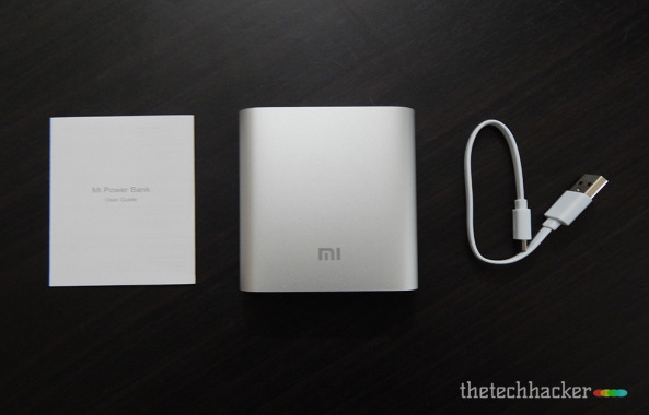 Xiaomi Mi 10400mAh Powerbank Box contents