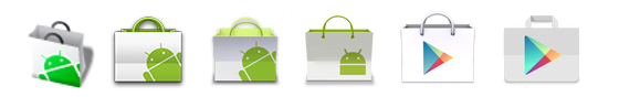 Google Play Store 5.0 Icons