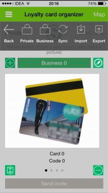 Loyalty Card Organizer