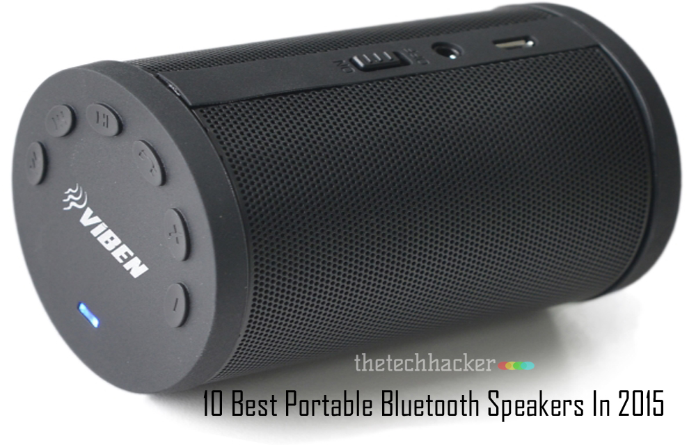 10 Best Portable Bluetooth Speakers In 2015