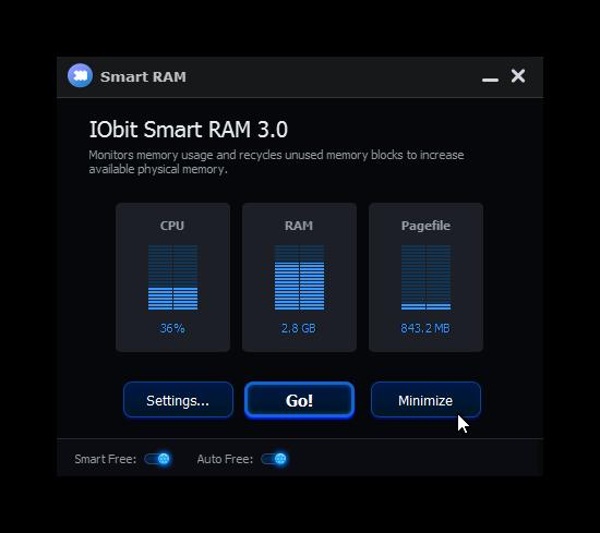 IObit Smart RAM