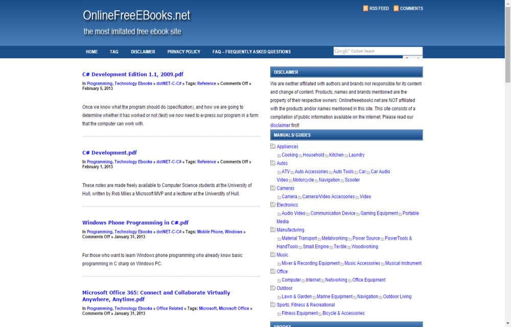 The Best 6 Sites to Get Free Ebooks - Technology