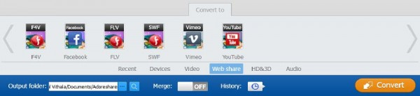 Adoreshare M4V Converter Genius Video Formats
