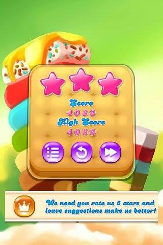 Candy Frenxy Score