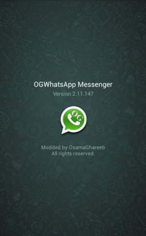 OGWhatsApp to install two whatsapp in a single devices