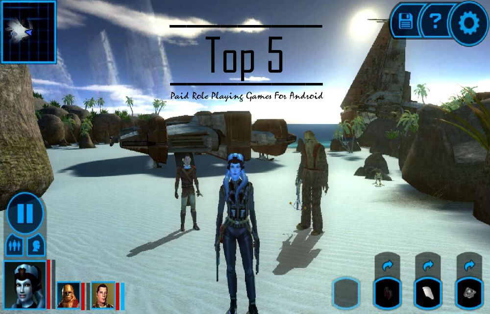 Top 5 Paid Role Playing Games For Android