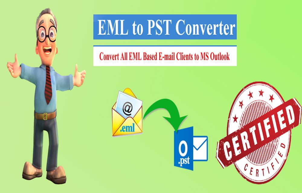 EML To PST Converter To Move Windows Live Mail To Outlook