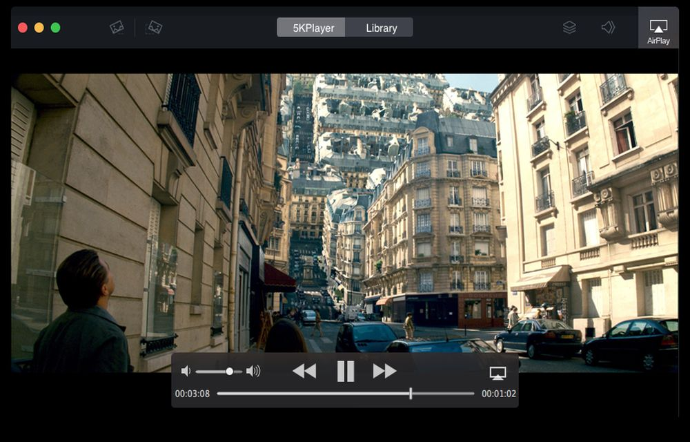 how to use 5kplayer airplay