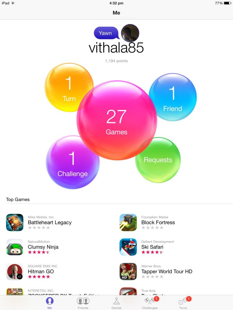 how to play games with friends on gamecenter
