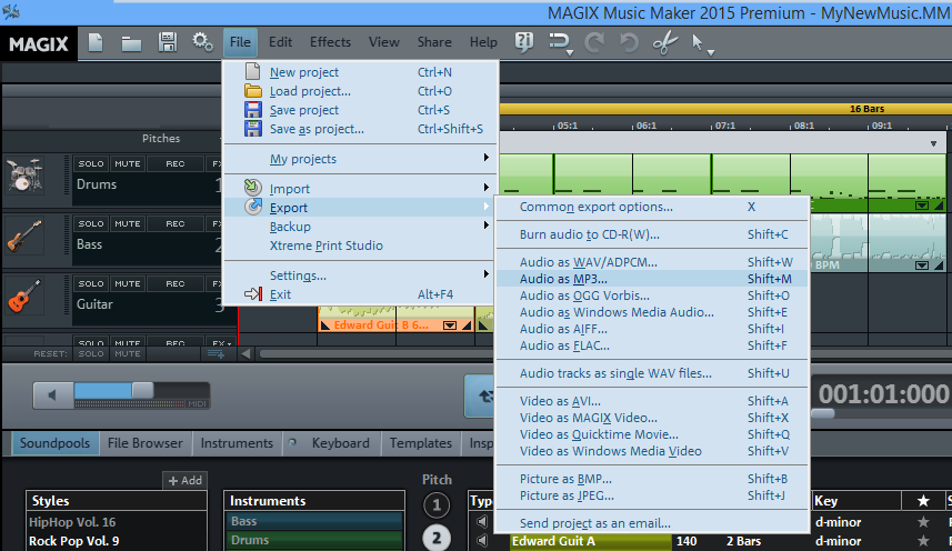 music-maker-export-mp3