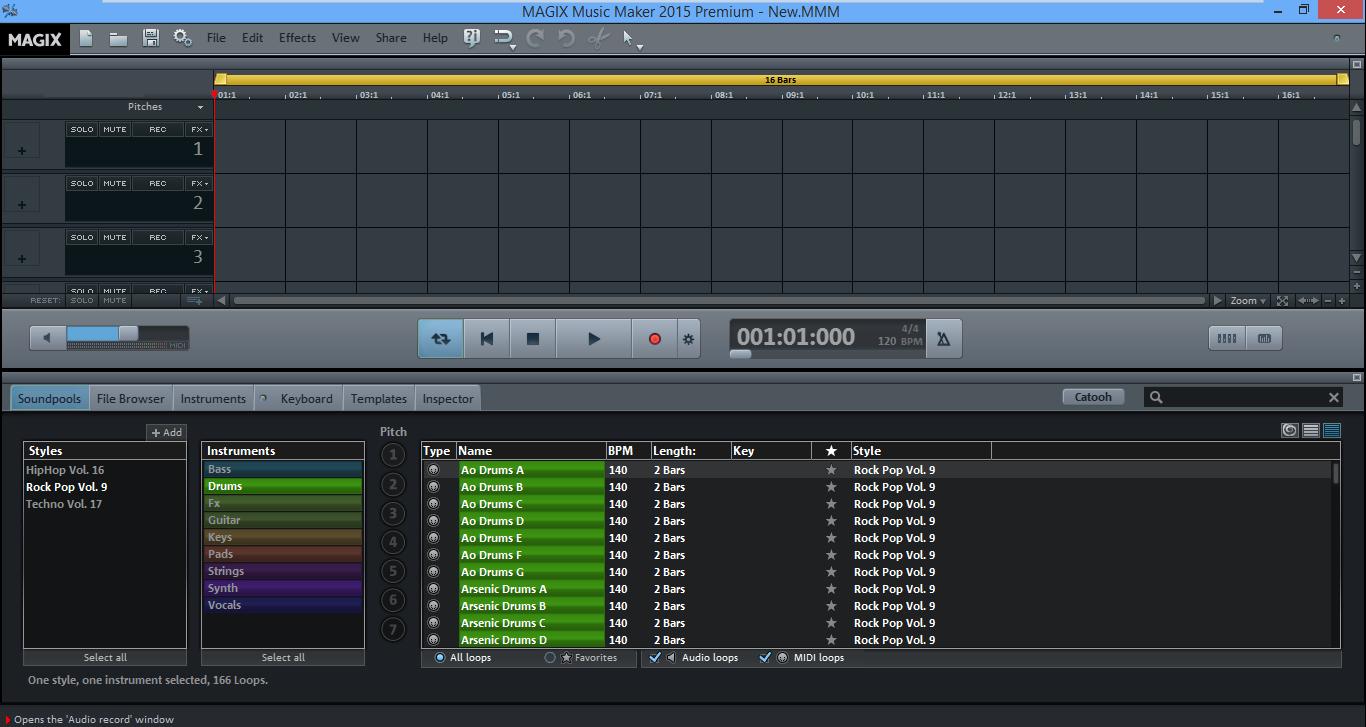 music-maker-home-screen