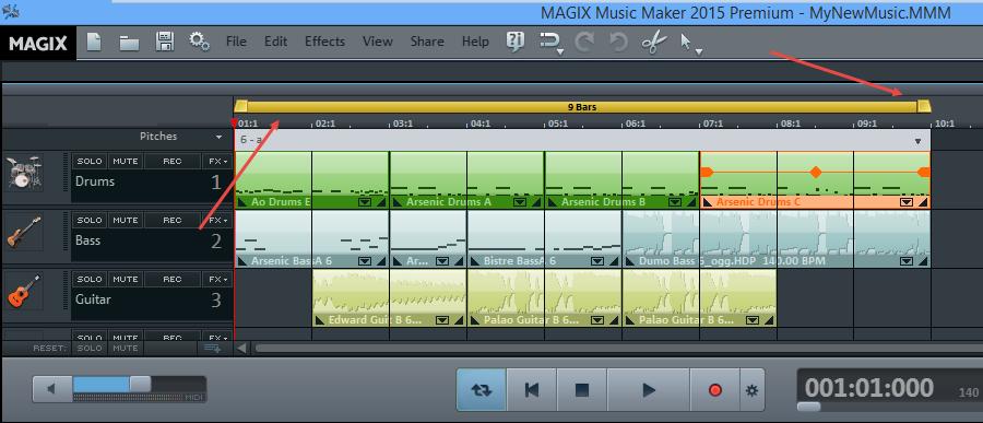 music-maker-start-end-points