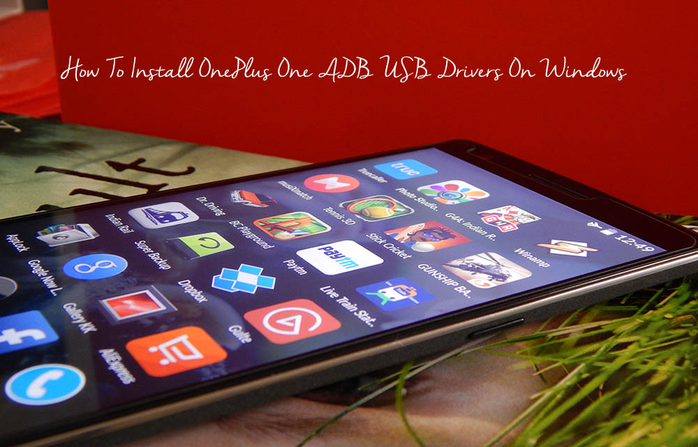 How To Install OnePlus One ADB USB Drivers On Windows