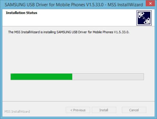 Installing Samsung Drivers