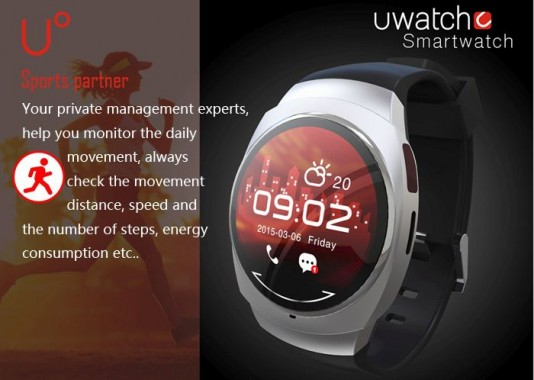 U Watch Fitness Tracking Features