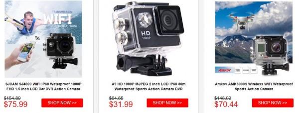 Action Camera Deals