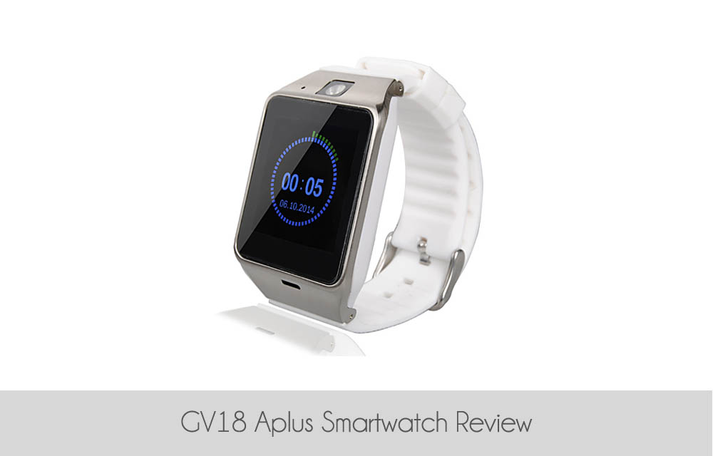 GV18 Aplus Smartwatch Review
