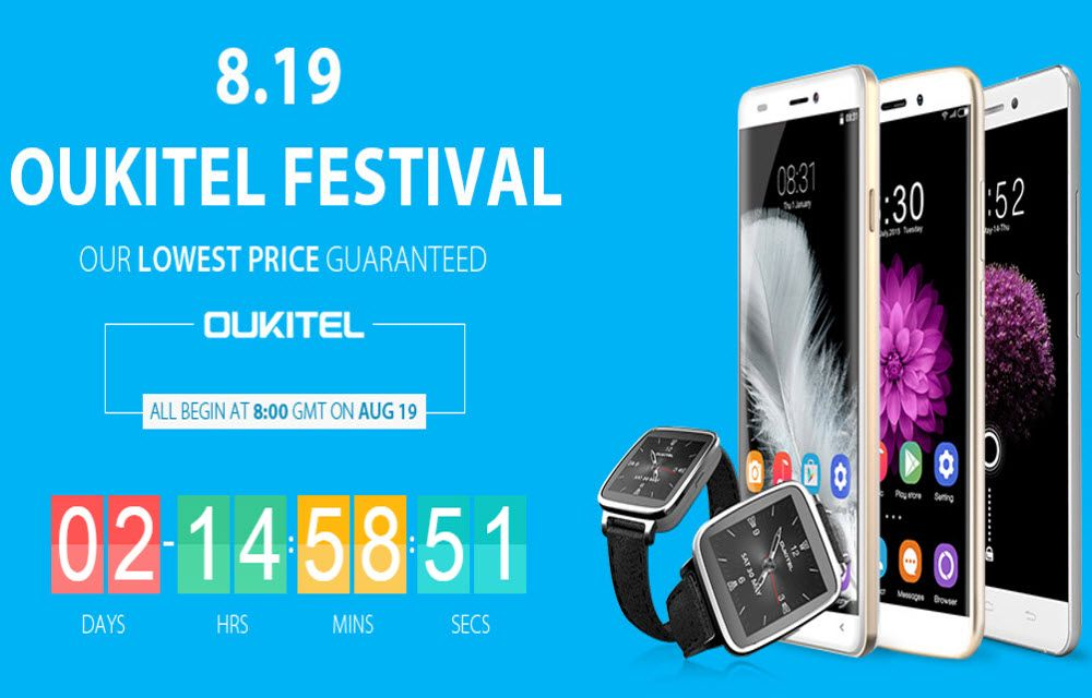 OUKITEL Flash Sale - Here Are All The Best Deals