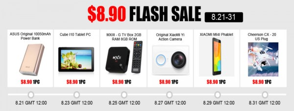 Timely Flash Sale