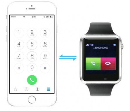 W8 Bluetooth Smart Watch Features