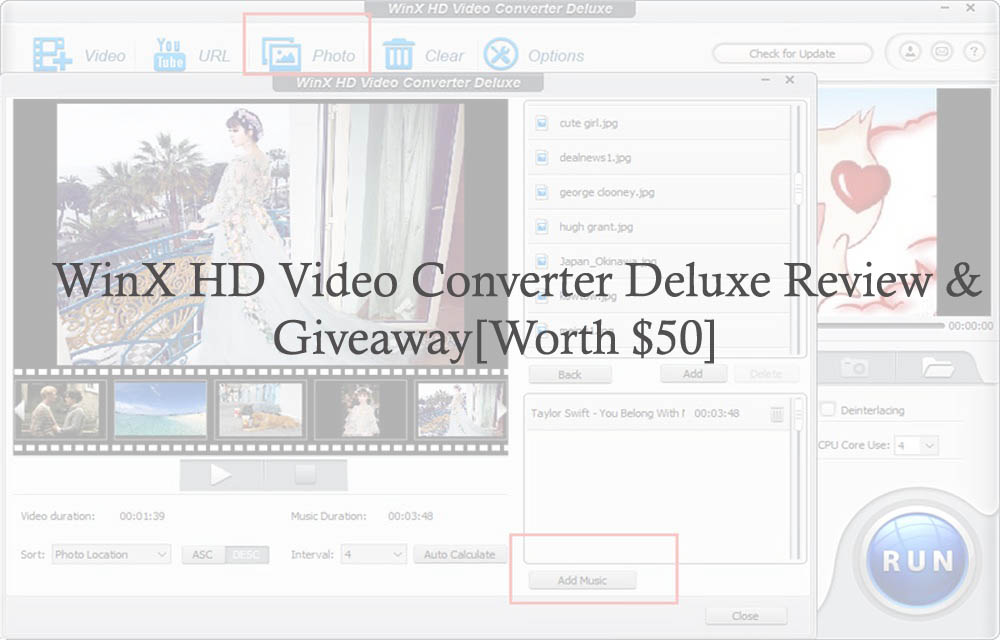 WinX HD Video Converter Deluxe Review & Giveaway[Worth $50]