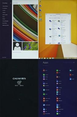 Chuwi Hi8 Tablet PC UI