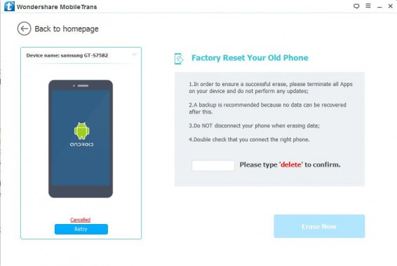 Factory Reset Your Old Phone