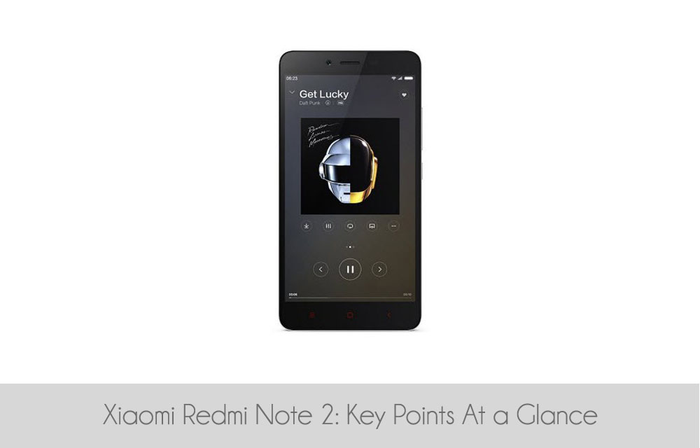 Xiaomi Redmi Note 2: Key Points At a Glance