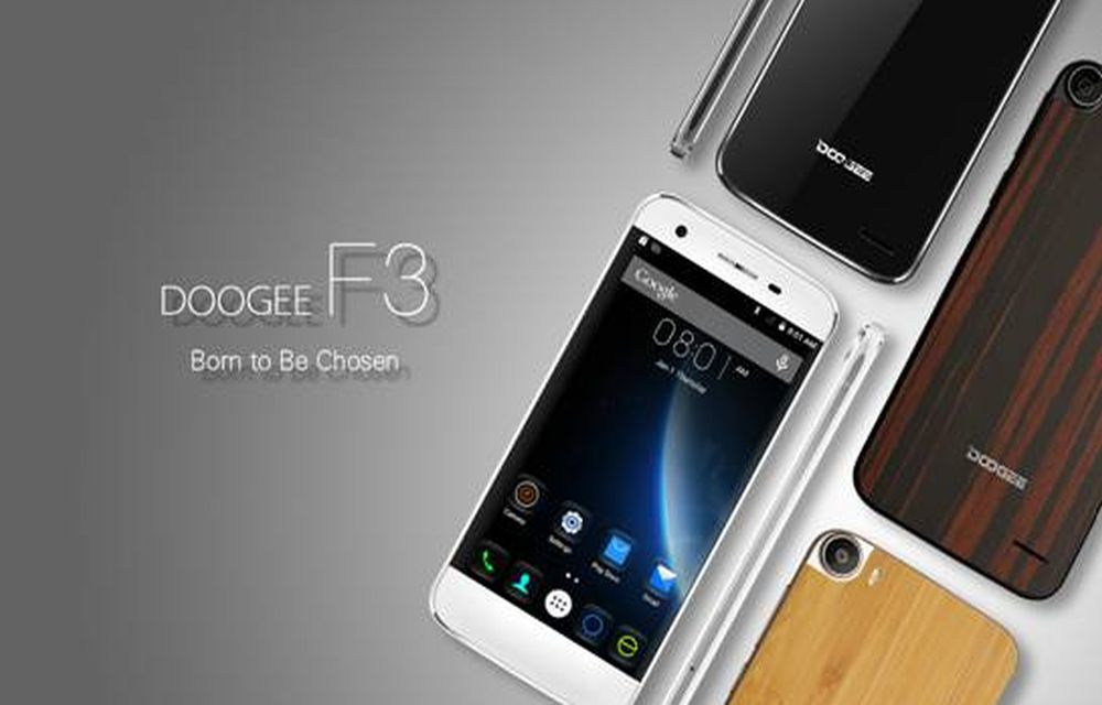 Doogee F3 – Awarded for Best Mobile Design 2015 by MIIT