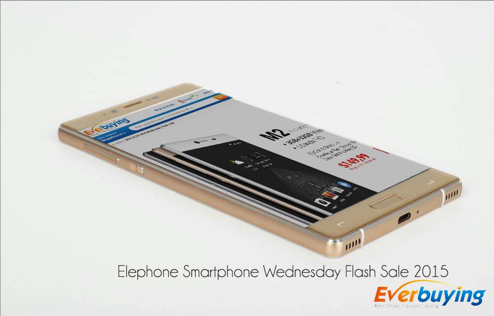 Elephone Smartphone Wednesday Flash Sale 2015