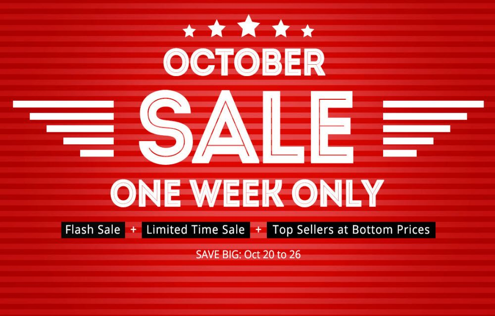 EverBuying Online Store - October Flash Discount Sale