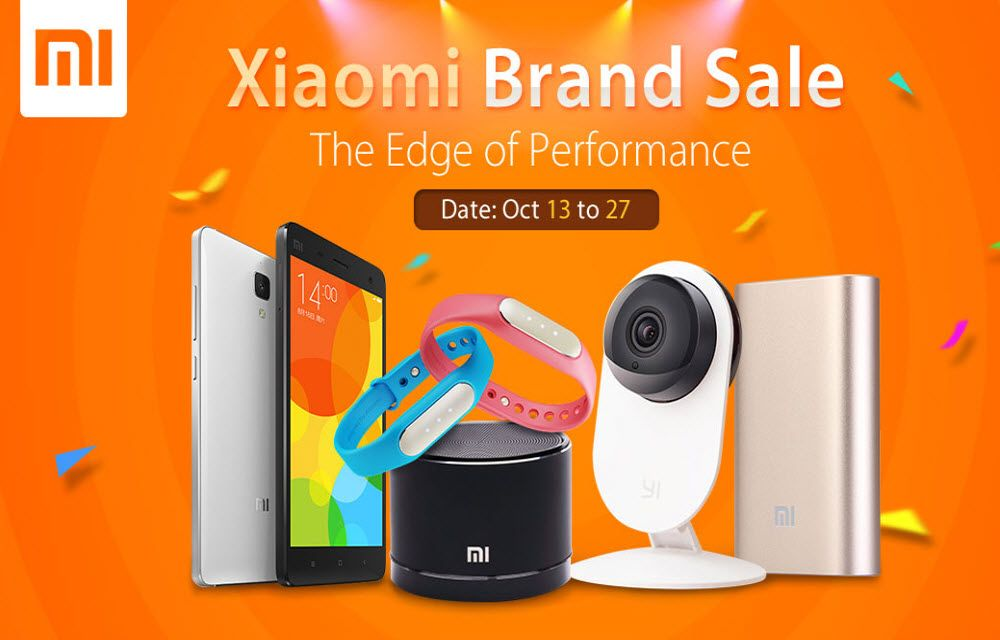 Xiaomi Brand Huge Discount Sale - Smartphones, Accessories and SmartLife Products