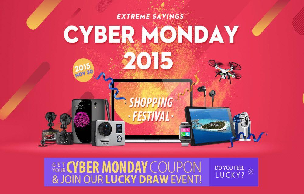 Cyber Monday 2015 GearBest Deals
