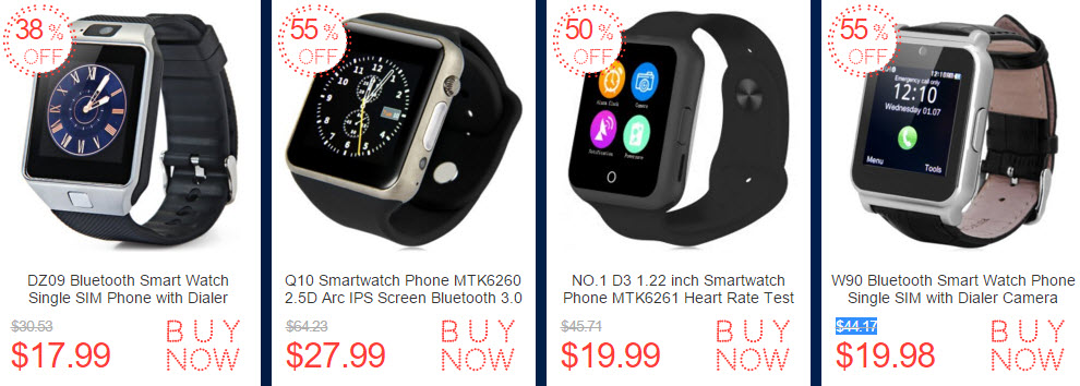 Cyber Monday 2015 Smartwatch Deals