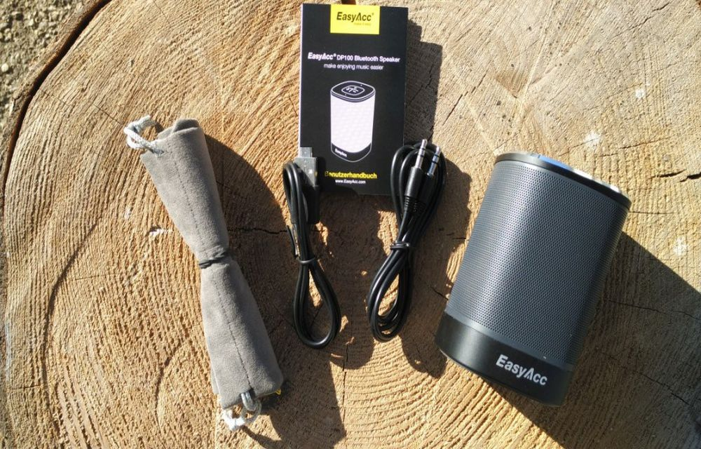 EasyAcc DP100 Ultra Portable Bluetooth speakers Review