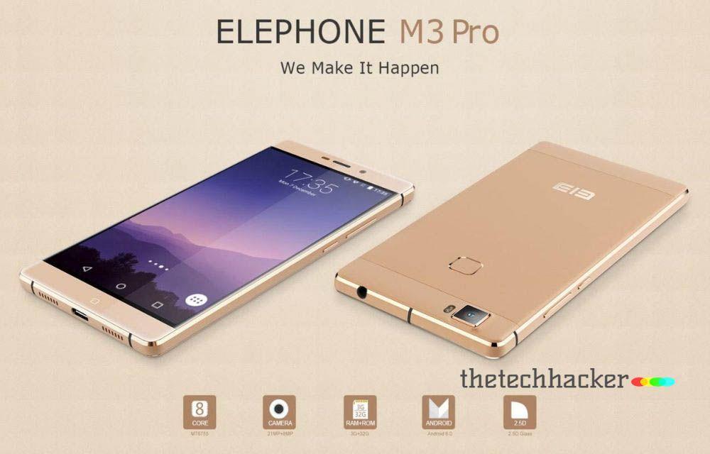 Elephone M3 Pro News, Rumours